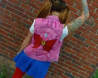 Sailor Moon Fight Like A Girl Vest