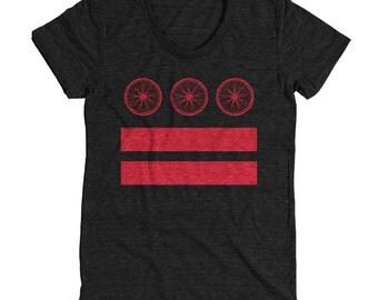 Medium - DC Bike Flag Tee - Women's