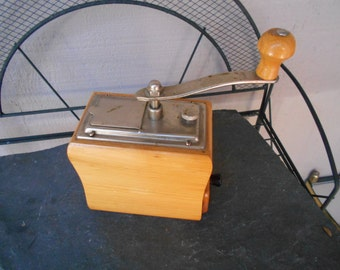 1959s Zassenhaus original Adjustable grind model coffee mill grinder 9 high in height