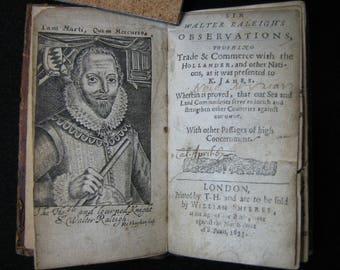 Sir Walter Raleigh 1653