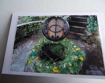 Original Photographic Print Greetings Card - The Well Head