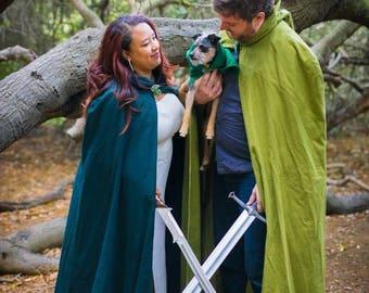 Adult Elf or Hobbit Cosplay Cloak