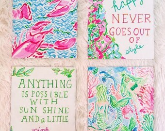 Custom 6x8 Lilly Pulitzer Painting