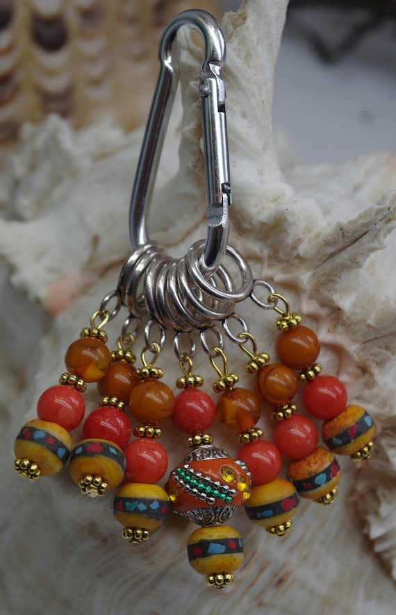 Knitting Accessories Australia : Knitting stitch markers set of accessories