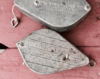 2 Chalk Strait Line Vintage Tools