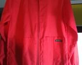 Colored cotton apron