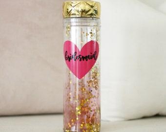 Wedding Water Bottle, Wedding Cup, Bride Cup, Water Bottle, Bride Water Bottle, Bridesmaid Cup, Bridesmaid Gift