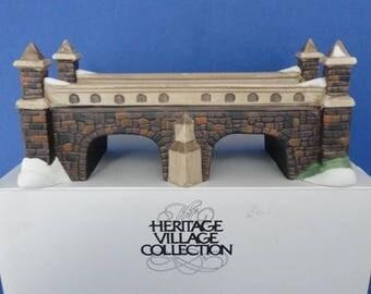Dept 56 Stone Train Tressel Retired HV Accessory