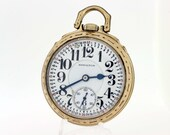 10K Gold filled 1933 Hamilton pocket watch
