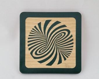 Infinity Swirl   Coaster
