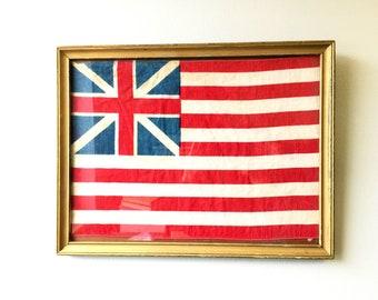 Framed Grand Union Flag