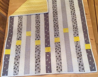 Baby Quilt, Custom  made to order