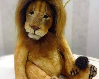 artist ooak bears TEDDY anna rudenko devoted lion