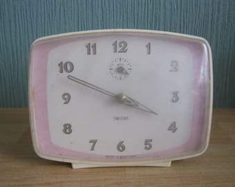 Vintage Retro Smiths Wind Up Alarm Clock