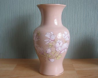 Sadler Vase decorated with blossom flowers