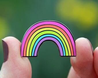 Rainbow Enamel Pin from Doodlebug Design - Limited Edition