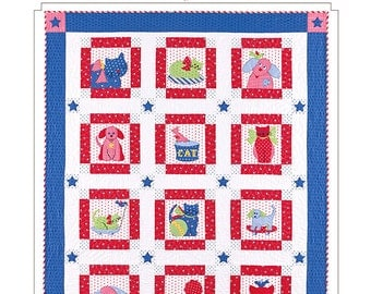 Doggone Cute Quilt Pattern by Bunny Hill Designs