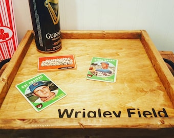 Iconic baseball stadium wood serving trays, Fenway, Wrigley, Miller, Yankees, Classic baseball team gifts, Ballparks, Baseball fan gift, BBQ