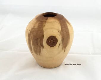 Hollow Form - Hollow Vessel - Decorative Hollow Form Vase - Accent Piece