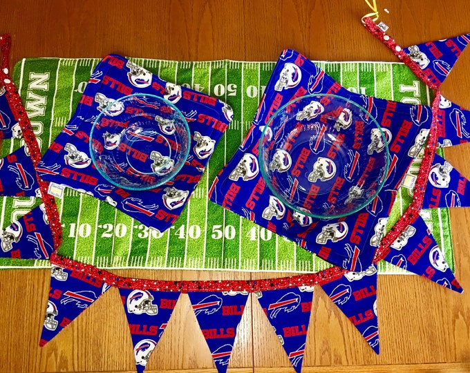 Featured listing image: Buffalo sports tailgating gift package