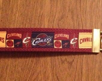 Cleveland Cavaliers Wristlet Key Chain Zipper Pull