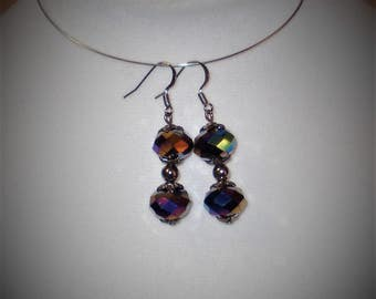 Midnight Aurora Earrings