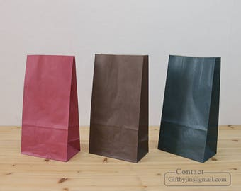 Paper Gift Bags_Wedding Baby shower Party Favor treat candy bags _Stand up paper bags