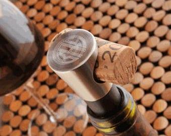 Personalized Buono Vino Wine Stopper