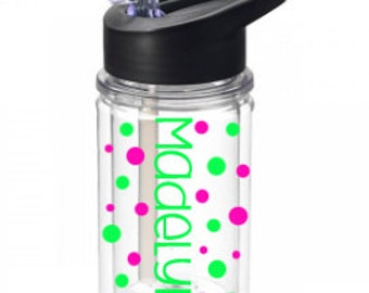 Personalized Kids  Water Bottle, Kids Water Bottle, Kids Straw Cup, Kids Cup, Personalized Kids Cup Kids sport cup, name cup