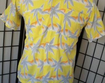 Men's vintage Tropicana shirt medium m Made in the USA