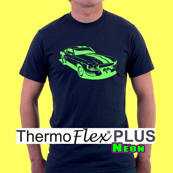 12x 15 1 Sheet Thermoflex Plus Neon Heat Transfer