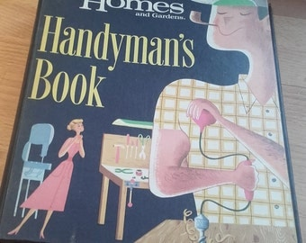 American Better homes and gardens 60's Handyman's Book