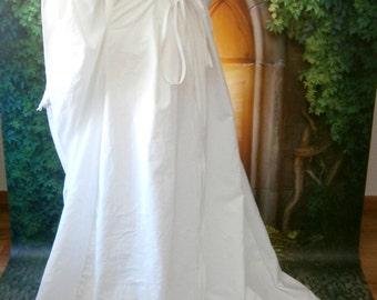 Chapel Train, Add on for Renaissance Dress, Medieval gown, Wedding Dress, LARP