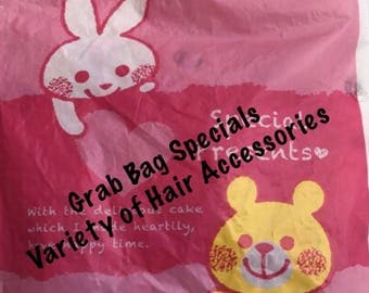 Children Grab Bags Special Variety of hair accessories 6mo - older Total Value 20 dollars