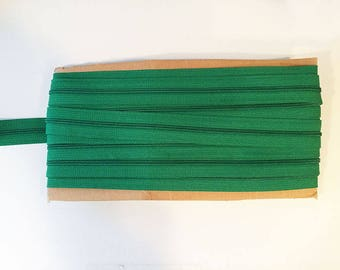 10 yards BRIGHT GREEN YKK Nylon Zipper chain 45CF 5/8 inch
