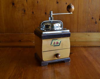 SERVICED Coffee Grinder Vintage ID Heavy Duty Fully Serviced