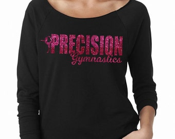 Precision Gymnastics Wide Neck Fleece