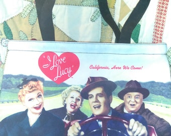 I Love Lucy Purse - 10 inches tall and 14 inches wide!