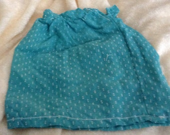 Vintage Fashion Doll Skirt Dotted Swiss