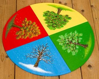 Addition to Montessori Season circle material