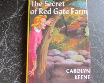 The Secret of Red Gate Farm Nancy Drew Mystery Stories Hardback Book Carolyn Keene