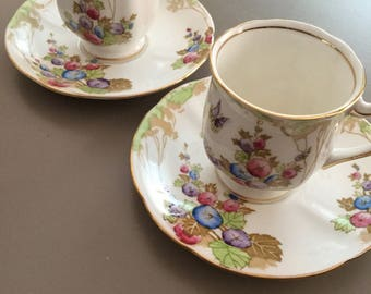 Standard china demi tasse x 2