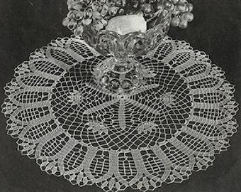 004 Crochet Doily Pattern