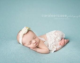 Newborn dress, romper, photo prop