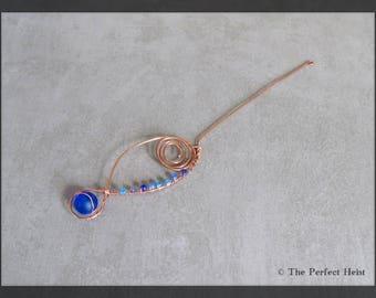 Orifice Hook, Copper, Blues, Spinning, Wheel, Tool
