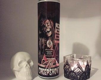 Creepshow Prayer Horror Candle