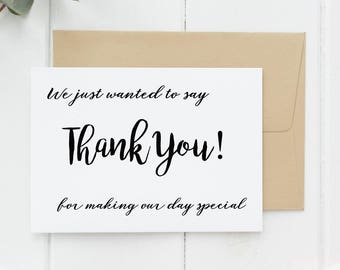 thank you for helping us tie the knot, thank you card pack, Wedding thank you cards, thank you cards wedding, thank you cards set, thank you