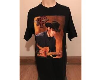 Vintage Brad Paisley Concert Tour T-shirt! Sz. L