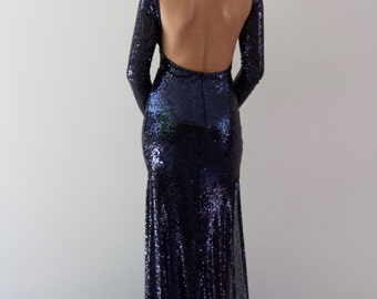 Anastasia Long Sleeve Gown