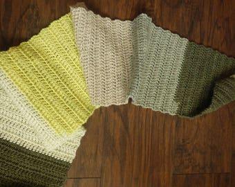 GLO worm scarf